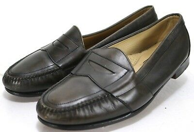 ccb867e9238 Cole Haan Douglas  139 Men s Penny Loafers Shoes Size 10.5 Extra Wide Black