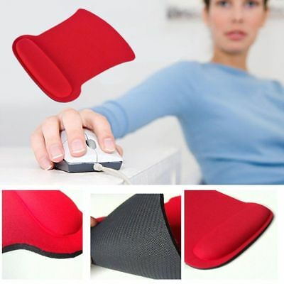 New Anti Slip Gel Mouse Mat Pad Rest Wrist Comfort Support Laptop PC Computer