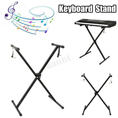 X Frame Heavy Duty Portable Universal Folding Keyboard Stand Height Adjustable