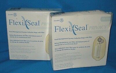 ConvaTec FlexiSeal Privacy 411108 Fecal Bag With Filter