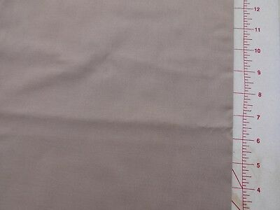 Plain/Solid Taupe 43 Half Meter 100% Cotton