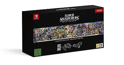 Super Smash Bros. Ultimate Limited Edition (Nintendo Switch) NEW BOXED