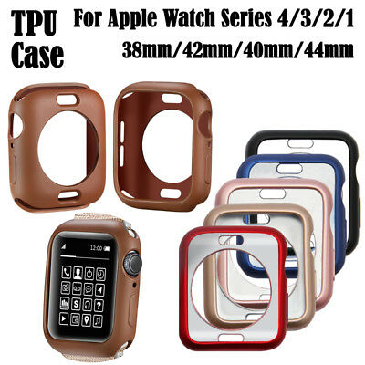 New iWatch Protective Cover Case TPU Skin Bumper For Apple Watch Series 4 3 2 1