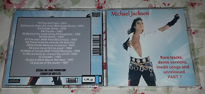 Michael Jackson - CD Rare tracks, demo versions, inedit songs and unreleased 1