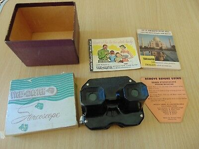 Vintage Sawyers  Usa View Master Viewmaster Bakelite Stereoscope Optical Toy