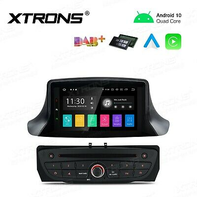 "AUTORADIO 7"" Android 9.0 Renault Megane III Fluence GPS Navigatore Bluetooth Mp3"