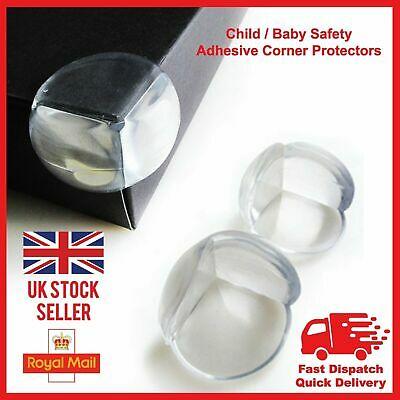 Table Edges Protectors for Babies-Transparent and Easy to Install.