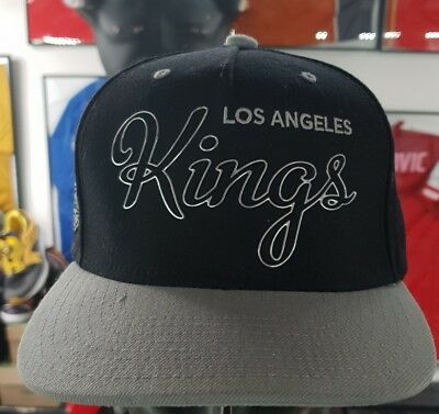 97bc05a6509 Casquette cap hat nhl snapback vintage hockey los angeles kings mitchell  ness
