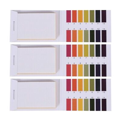 3 set 240 Strips Professional 1-14 pH litmus paper ph test strips water cos P1Q3
