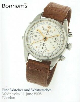 Bonhams June 2008 Fine Watches and Wristwatches