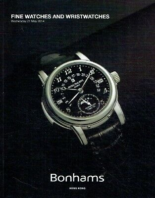 Bonhams May 2014 Fine Watches & Wristwatches