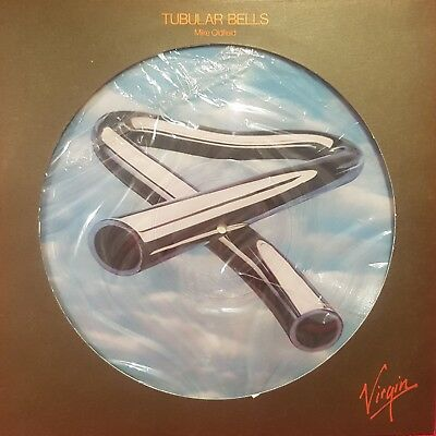 "Mike Oldfield ""Tubular Bells"" (Picture Disc) LP= VG, Cover= VG"