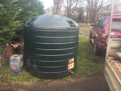 Oil Tank Atlas 2500L-Kerosine Heating Oil, Diesel Etc. Good Condition With Stand