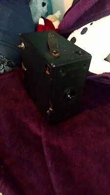 Antique vintage Jb Ensign Box film Camera