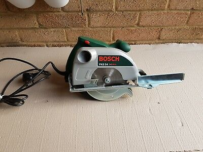Bosch Pks 54  xcel circular saw with guide's 230v Brand New In Box Unused