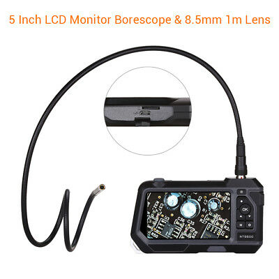 Teslong NTS500 φ8.5mm 2MP 5Inch 720P IP67 6LEDs Industrial Borescope Inspection