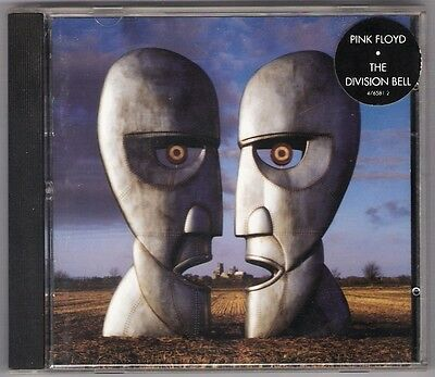 PINK FLOYD The Division Bell CD 1994 oz Australian 1st Columbia +sticker NO IFPI