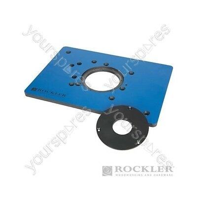 ROCKLER Phenolic Router Plate for Triton Routers - 210 x 298mm (8-1/4 x 11-3/4)