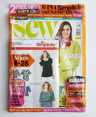 SEW Magazine - Issue 106 with 2 Free Gifts