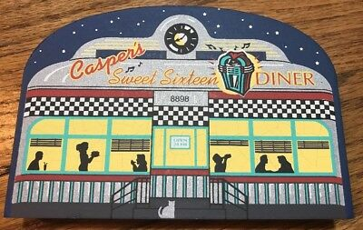 Cat's Meow ARTIST SIGNED 1998 Special Convention Release SWEET SIXTEEN Diner