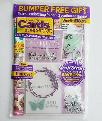 Simply Cards & Papercraft Magazine  Issue 173 with Bumper Free Gift