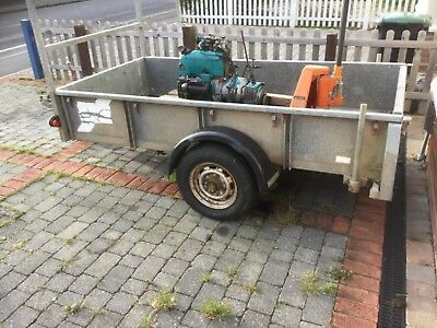 Ifor Williams GD84 general purpose trailer.nice condition./ VOLVO 850 ??