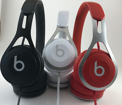Genuine Beats by Dr. Dre EP Wired On-ear Headphones ControlTalk, BOX CARRY BAG!