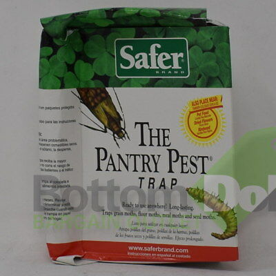 Safer Brand Long Lasting The Pantry Pest Trap 05140 Ready to Use