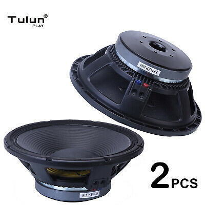 """Top quality 15P400A 800Watt 15"""" Raw Replacement DJ PA 8Ohm Subwoofer Tulun Play"""