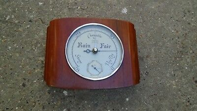 Vintage Smiths 1950's Baratherm / Barometer Spares Or Repair