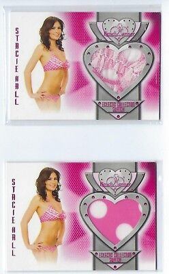 Benchwarmer Stacie Hall Swatch 2014 Eclectic Collection Lot of 2