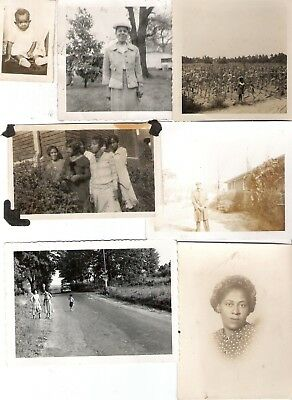 1900's - 50's  African American Photo Lot No1