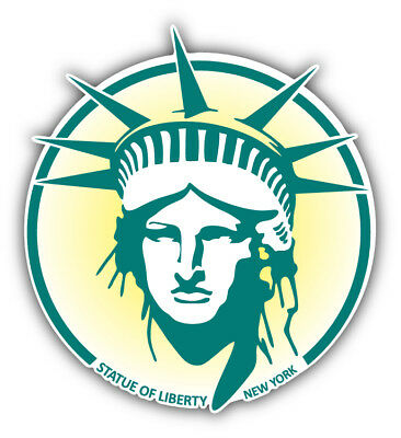 Statue Of Liberty New York USA Car Bumper Sticker Decal   -3'' or 5''