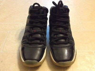 Nike Air Jordan Retro Xl 11 Youth black sneakers size 4Y