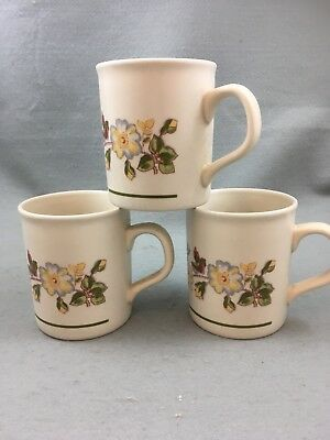 Marks & Spencer Autumn Leaves Mugs X 3