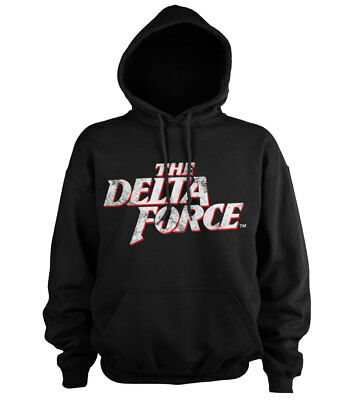 Officially Licensed The Delta Force Washed Logo Hoodie S-XXL Sizes