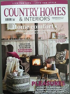 Country Homes & Interiors Magazine February 2/2019 Home Comforts Current Issue