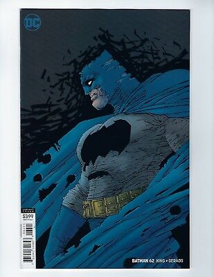BATMAN # 62 (DC Universe, FRANK MILLER VARIANT COVER, Mar 2019), NM NEW