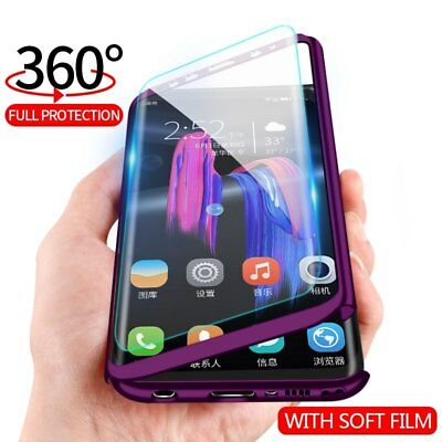 Hybrid Shockproof 360° Ultra thin Case Cover Skin For Samsung Galaxy S9 S8 Plus