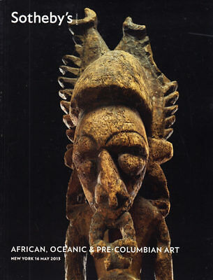 Sotheby's African, Oceanic and Pre-Columbian Art New York 5/16/13 -TIM 3