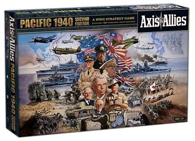 JM2115604 Avalon Hill Board Game Axis & Allies Pacific 1940 2nd Edition english