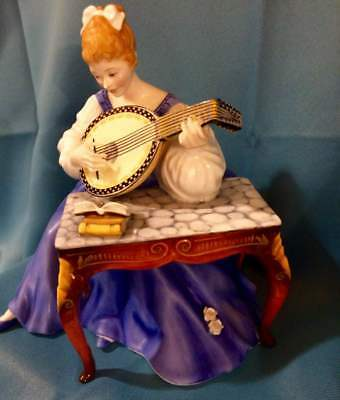 Very Rare Royal Doulton #HN 2431 Lute* in Perfect Condition!