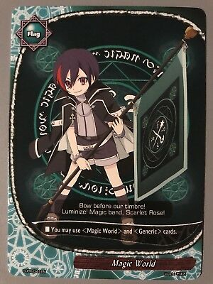 Future Card Buddyfight Magic World Flag Note Hibikase S-Pr/041En
