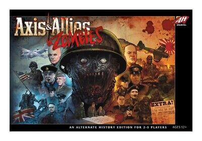 JM2268705 Avalon Hill Board Game Axis & Allies & Zombies english