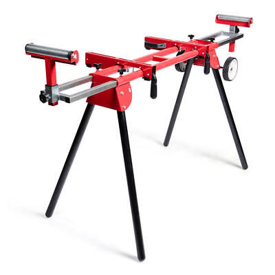 NEW General International Universal Miter saw stand with solid tires- MS3102