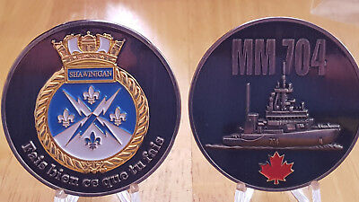 HMCS Shawinigan Collectible Challenge Coin