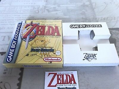 Caja Zelda A Link To The Past, Four Swords(Game Boy Advance)
