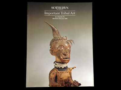 Sotheby's Important Tribal Art July 2Nd 1990  Dayak Ifugao Maori Baga Dan Baule