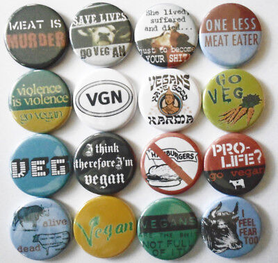 STOP ANIMAL TESTING 8 NEW button pin badge anti cruelty vegan peta fur murder