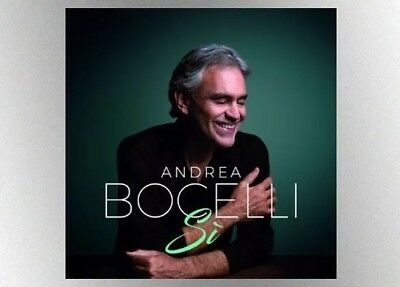 SALE!!!  ANDREA BOCELLI Si New CD 2018 BRAND NEW SEALED Package